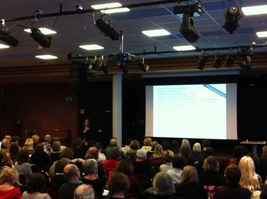 Write to Read, kommunövergripande träff nov 2012. Foto: Ulrika Jonson