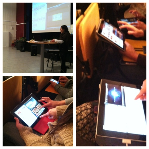 iMovie workshop 12 feb 2013