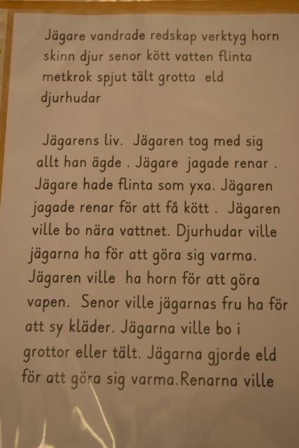 Bild Fornbacka Jägarstenålder text
